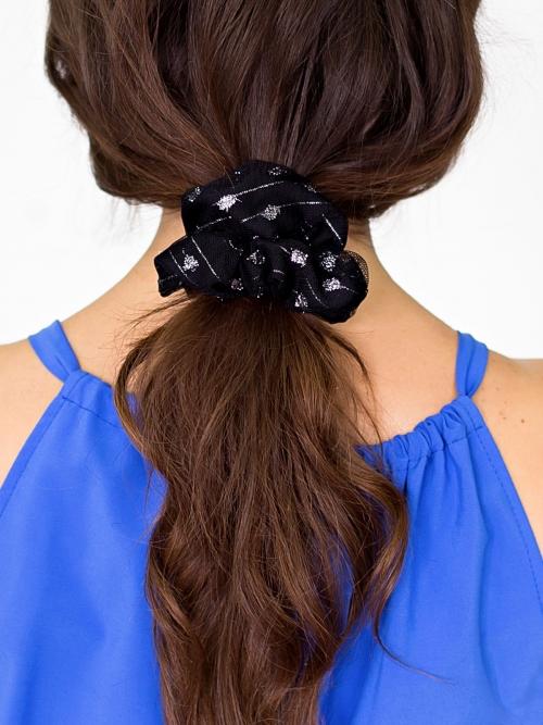 Комплект из двух резинок для волос 100-19